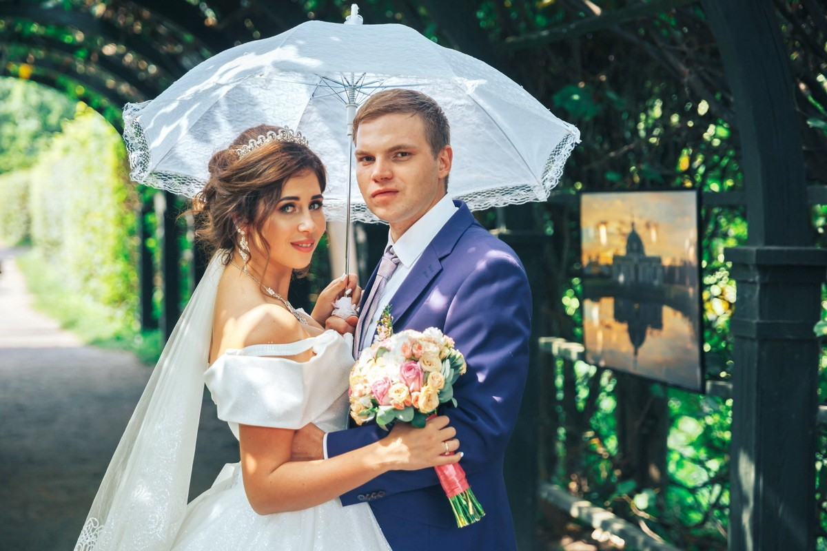 свадьба в кусково у лены
