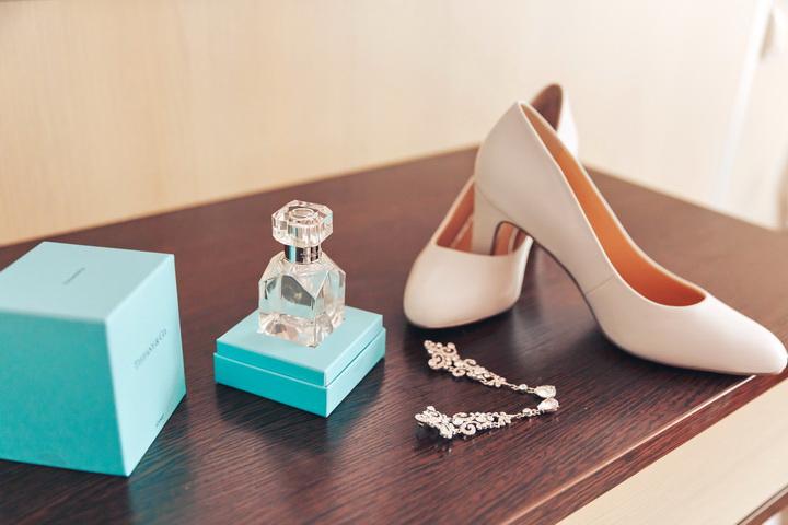 фотограф на свадьбу и туфли невесты