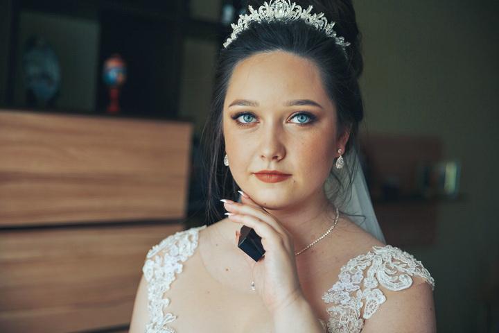 свадебный макияж у невесты
