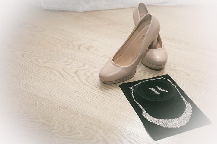 как подготовиться к свадьбе:свадебные туфли и бижутерия